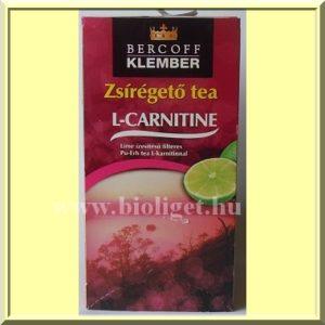 Bercoff-Klember-zsiregeto-tea-L-carnitinnel