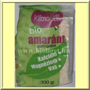 Bio-amarant-pattogatott-Klorofill