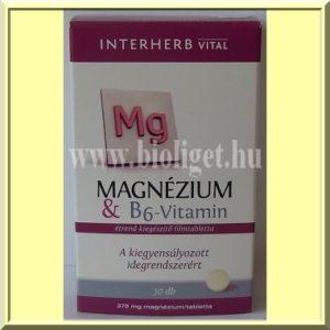 Magnezium-es-B6-vitamin-tabletta-Interherb
