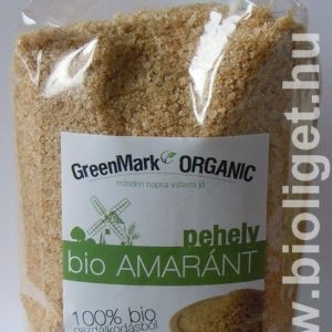 Greenmark bio amaránt pehely 400g