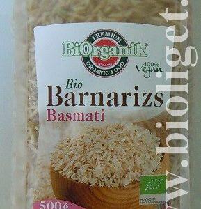 Biorganik bio basmati barna rizs 500g