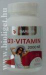 Damona D3-vitamin tabletta