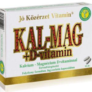 Jó Közérzet Kalcium Magnézium + D-vitamin