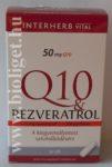 Interherb Q10 Rezveratrol kapszula
