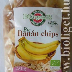Biorganik bio banán chips 250g