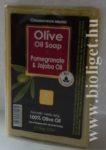 Görög olíva szappan gránátalmával és jojobával - Bio esti