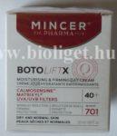 BotoLiftX hidratáló feszesítő arckrém 40+ - Mincer