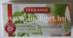 Teekanne Detox & Slim herbatea zöld teával