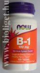 Now B1 vitamin tabletta 100db