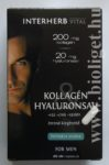 Interherb kollagén hyaluronsav kapszula for men