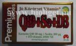 Jó Közérzet Q10 szelénnel és D3-vitaminnal