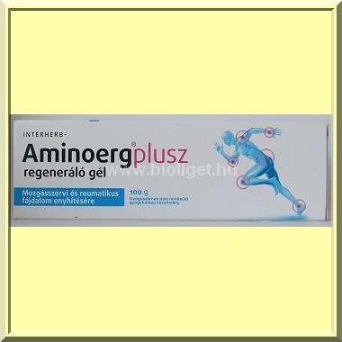 aminoerg plusz regeneráló gél