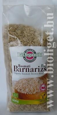 bio basmati barna rizs