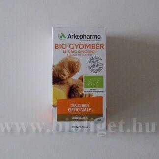 Arkopharma bio gyömbér kapszula