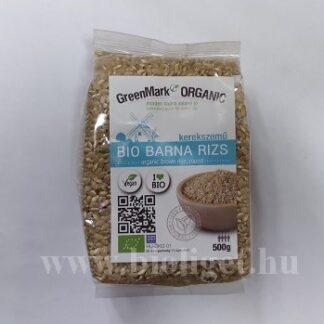 bio kerekszemű barna rizs
