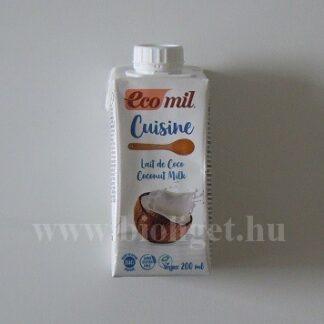 Ecomil növényi tejszín kókuszból