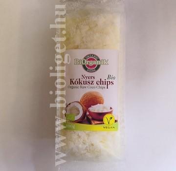 bio nyers kókusz chips
