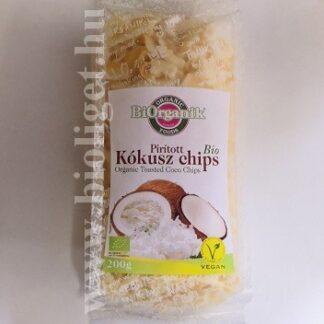 bio pirított kókusz chips