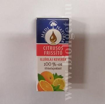 citrusos frissítő illóolaj