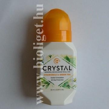 Crystal kamillás zöld teás