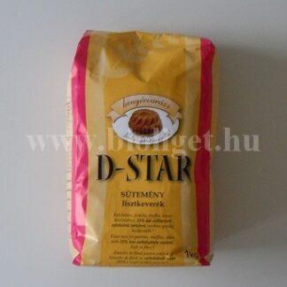 D-star sütemény lisztkeverék
