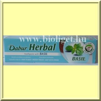 Bazsalikomos fogkrém