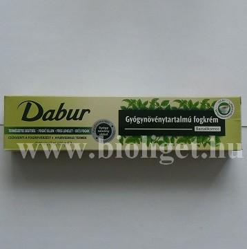 Dabur gyógynövényes bazsalikomos fogkrém