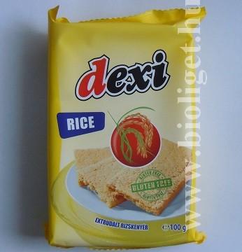 Dexi extrudált rizskenyér