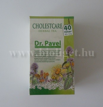 Dr. Pavel cholestcare tea 40 filteres