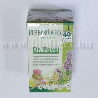 Dr. Pavel Epe és hasnyálmirigy tea
