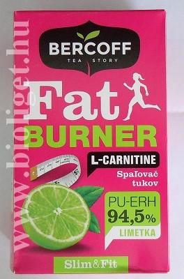 fat burner tea l-karnitinnal