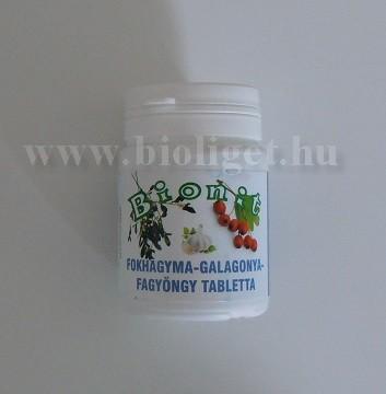 Bionit fokhagyma galagonya fagyöngy tabletta