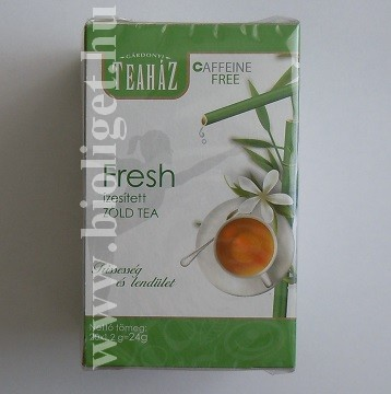 fresh zöld tea