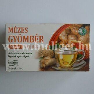 instant mézes gyömbér tea