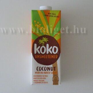 Koko cukormentes kókusztej kalciummal 1000 ml
