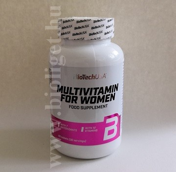 multivitamin nőknek