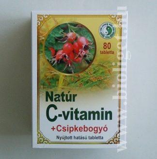 natúr C-vitamin csipkebogyóval