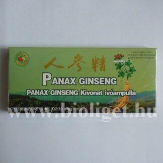 panax ginseng ivóampulla