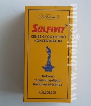 sulfivit kénes gyógyfürdő