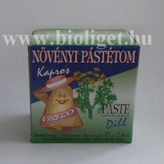 Vireco kapros növényi pástétom