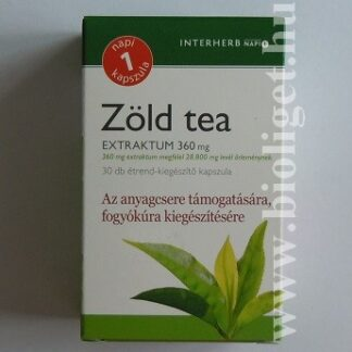 zöld tea kapszula