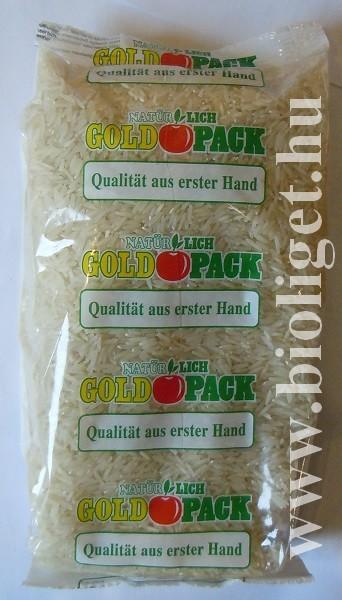 Basmati rizs 1000g - Goldpack - jelenleg nem kapható..