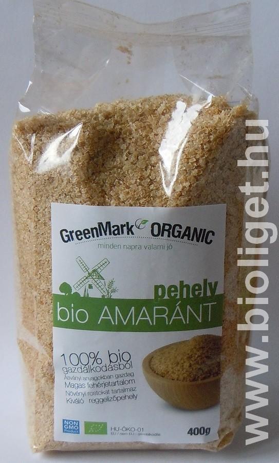 Bio amaránt pehely 400g - Greenmark - Bioliget 68d3b97e10