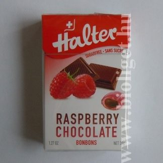 halter málnás csokoládés
