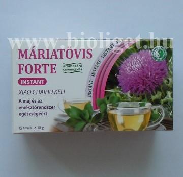 máriatövis forte instant tea