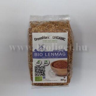 Greenmark bio aranysárga lenmag