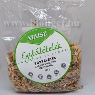 Hagymás rizottó magvakkal - Ataisz