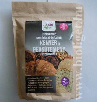 Szafi csökkentett szénhidrát-tartalmú kenyér