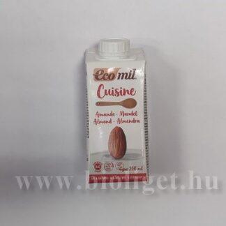 Ecomil bio cukormentes mandula főzőkrém