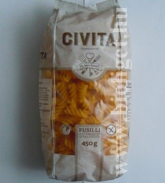 civita orsó tészta